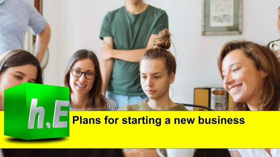 Plans for starting a new business