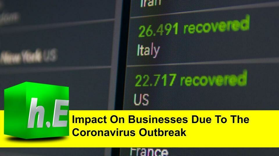 Impact On Businesses Due To The Corona virus Outbreak