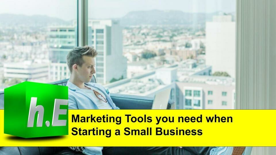 Marketing tools you need when starting a small business