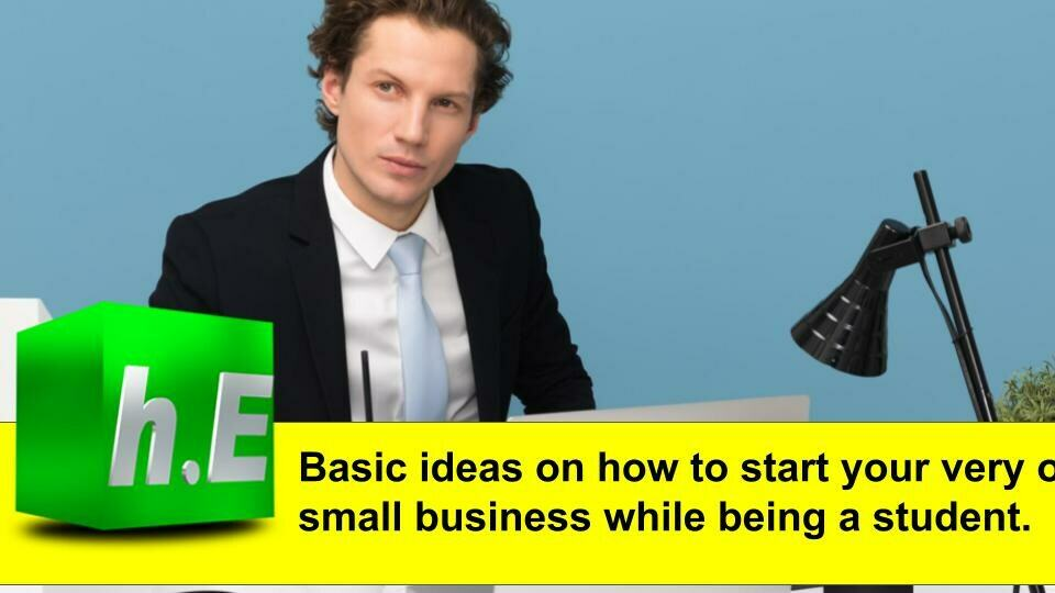 Basic ideas on how to start your very own small business while being a student.