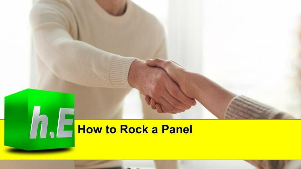 HOW TO ROCK A PANEL