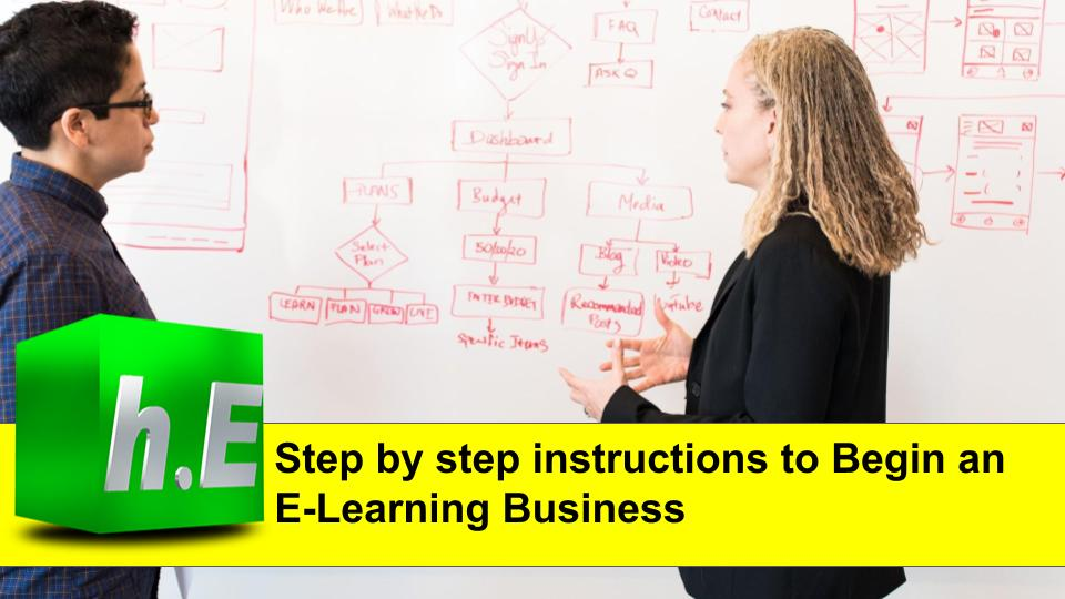 Step by step instructions to Begin an E-Learning Business