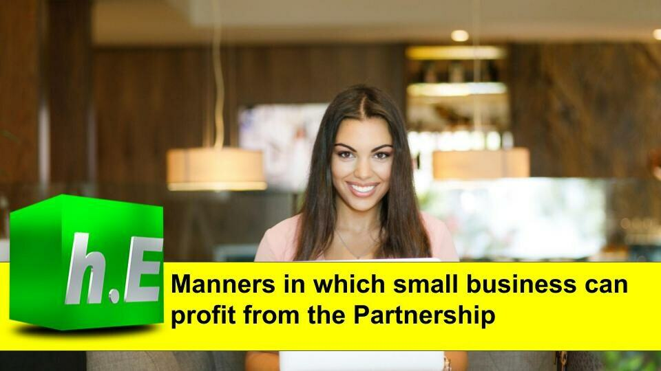 Manners in which small business can profit from the Partnership