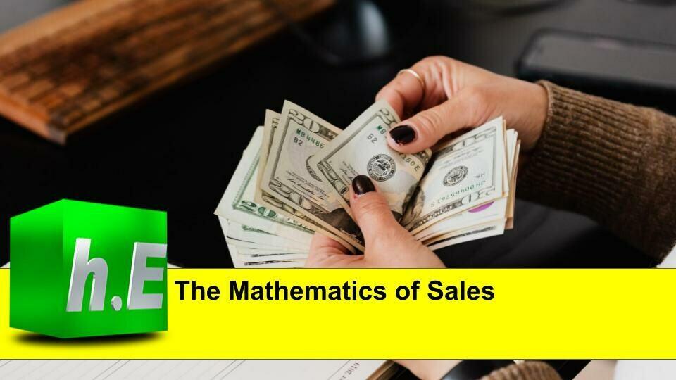 The mathematics of sales