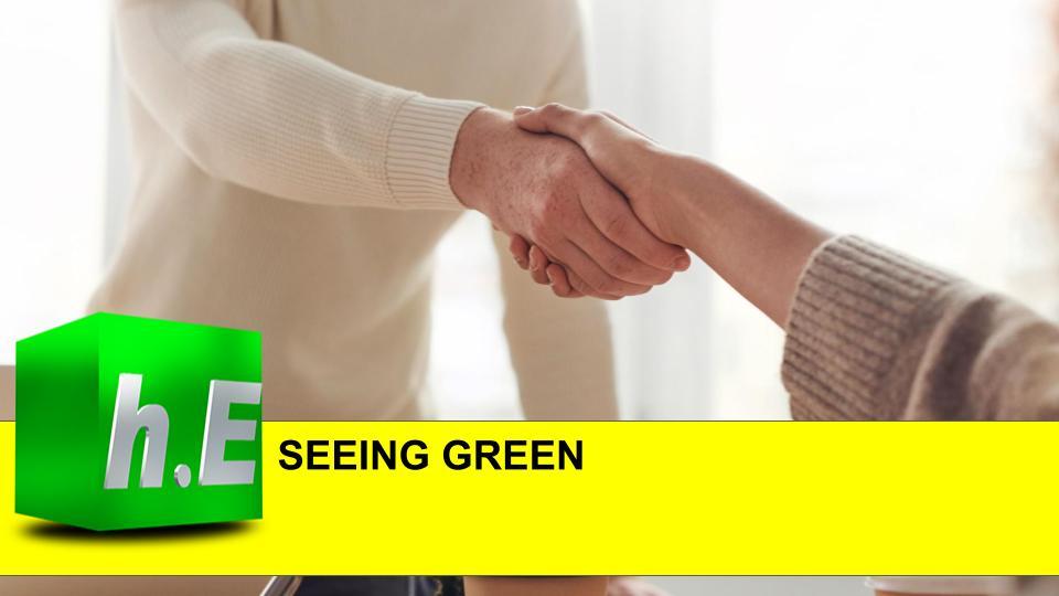 SEEING GREEN