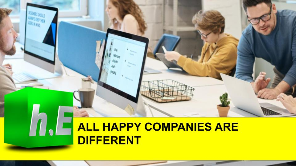 ALL HAPPY COMPANIES ARE DIFFERENT
