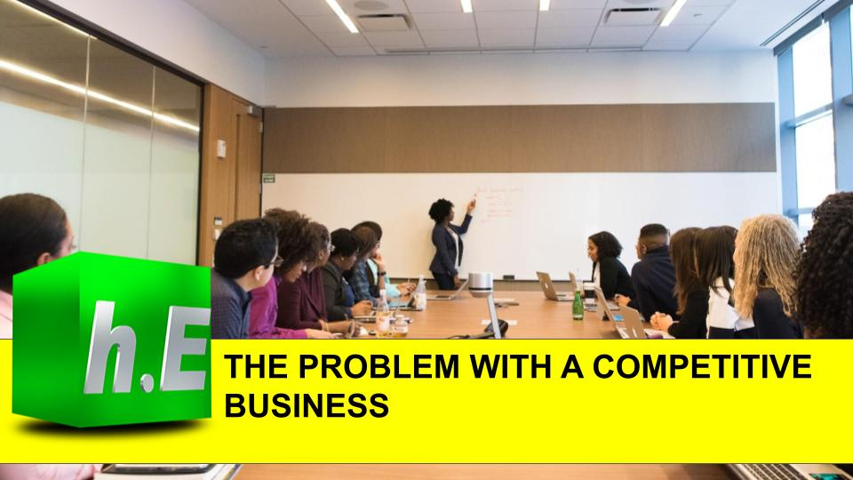 THE PROBLEM WITH A COMPETITIVE BUSINESS